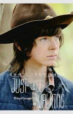 Just keep walking. ~Carl Grimes. by mylifeisab00k