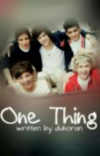 One Thing by dvhoran