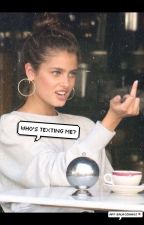 Who's Texting Me? -h.s by levii-