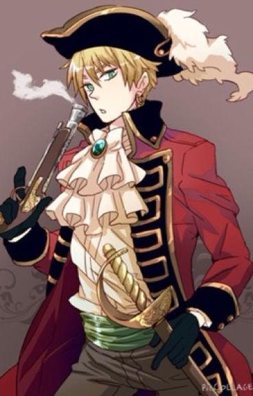 S.S Eyebrows ~Pirate!England x Reader~