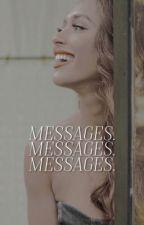 MESSAGES ↝ MATTHEW DADDARIO by mizcracker