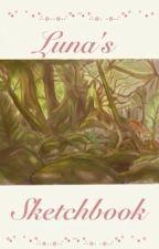 *・゜゚・*:.。..。.:*・'Luna's sketchbook'・*:.。. .。.:*・゜゚・* by lunamerle