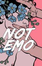 not emo • muke texting by mukepsycho