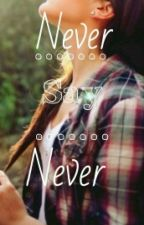 Never Say Never {On Hold} by GracesmiliefaceXx