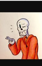 Underswap papyrus x shy reader by Minepearl