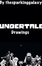 Undertale drawings by thesparklinggalaxy