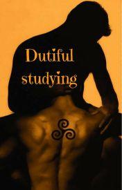 Dutiful studying (Sterek) by Lwineah