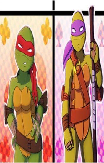 """Un cambio en los cuerpos de """"ellos"""" TMNT Femalex2"""