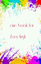 One Book For Zoey Kush by Jotellersd