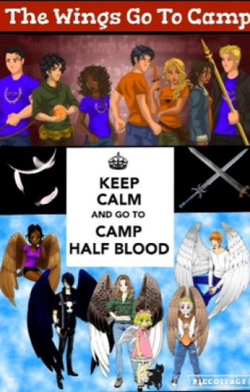 The Wings Go To Camp (a Maximum Ride and Percy Jackson Crossover