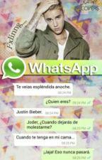 whatsapp; justin bieber by jerrypulento