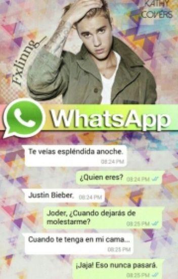 whatsapp; justin bieber
