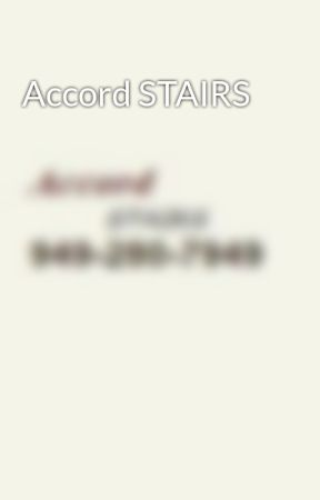 Accord STAIRS by AccordSTAIRS
