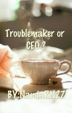 TROUBLEMAKER OR CEO? by NandaRestyNovtrya27
