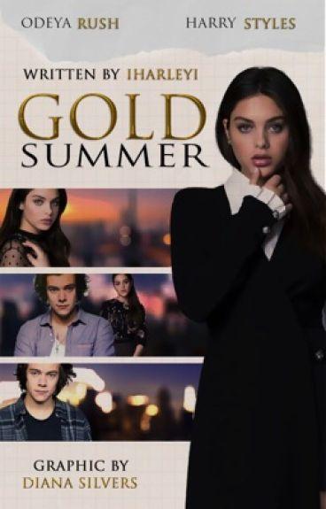 Gold Summer || Золотое лето [Harry Styles]