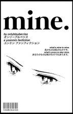 Mine [yoonmin] by jiminimist