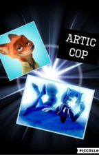 Arctic Cop (Nick Wilde x oc) by Priscil_is_me