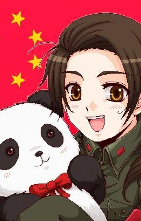Hetalia China x Reader:Ponytails and Curls - China x Reader