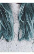 Blue, la fille aux cheveux bleus by Audacieux4