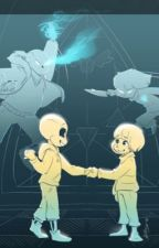 Ask young Sans and Chara! by dannykitty105
