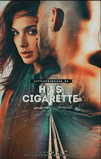 His Cigarette. » z.m