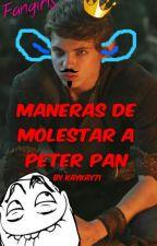 Maneras de molestar a Peter Pan OUAT (Robbie Kay) by kaykay71
