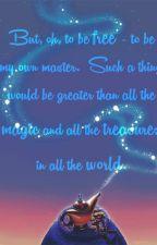 A Gypsy Wish (Genie X Male OC) by Katknightmare