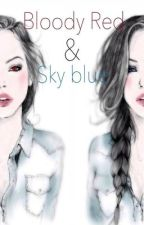 Bloody Red & Sky Blue by TaintedHeartt