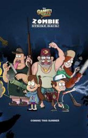 Gravity Falls Zombies by chofalca