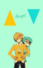 ¡Acepto! [Bill Cipher y Will Cipher] by Mim_Cipher