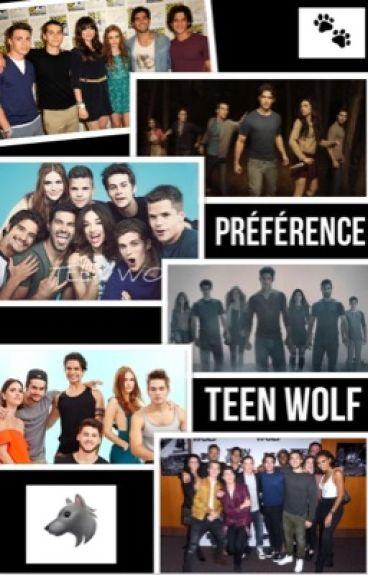 Préférence  Teen Wolf