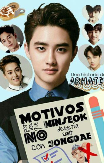 Motivos por los que Minseok no debería salir con JongDae ❀ KaiSoo • ChenMin