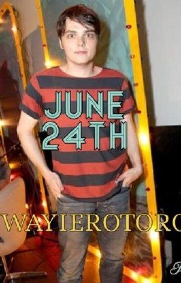 June 24th. (Gerard Way/My Chemical Romance)