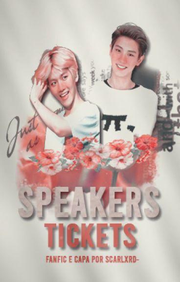 Speakers tickets ;; pcy + bbh;;