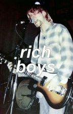Rich Boys ⇝ Petekey by socialalienations