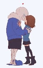 ¿DESEAS QUE SEA REAL? ||Sans X Frisk|| Undertale by MagyShadows