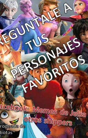 Pregúntale a tus personajes favoritos (Disney y Dreamworks) by Micaela_Jelsa_memes
