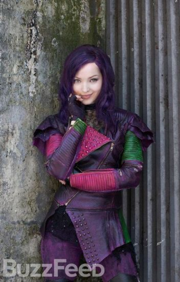 Mal Daughter of Maleficent and OUAT Peter Pan Love Story