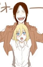 [Ymir x Christa] [SNK] [One-Shot] Un día lluvioso~ by EndlessPotato