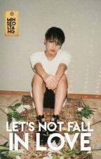 Let's not fall in love « Yoonkook by hosseokie
