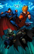 Hidden Leaf Ninja Vs Justice League by Pierceandrave