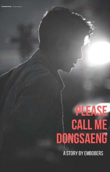 Please call me dongsaeng(Tamat)//private