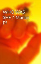 Manan Ff by arisharehan