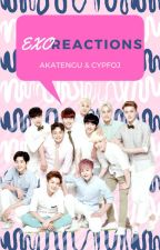 EXO Reactions by akatengu