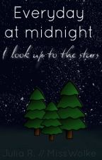 Everyday at midnight {I look up to the stars} by MissWolke