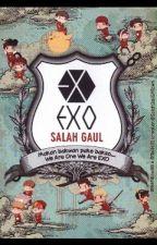 EXO SALAH GAUL by Park_Jiyeon24
