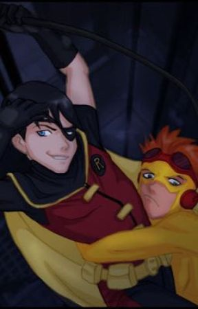 Young Justice: Robin x Reader x Kid Flash by The_Walking_Dead2000