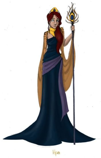 the first daughter of Hera (gods of Olympus boys x OC)(On hold