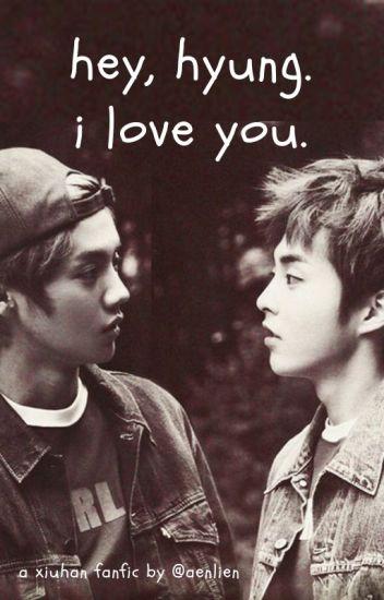 """""""Hey, hyung. I love you.""""[PROBÍHÁ OPRAVA]"""