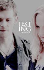 Texting »klaroline« by salvatores-
